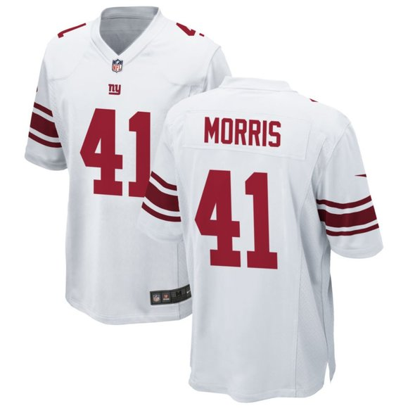 New York Giants Alfred Morris White Jersey